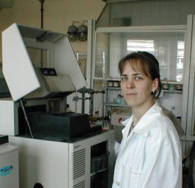 Páger Csilla (vegyész): Higanyvegyületek meghatározása kapilláris elektroforézis módszerrel (2000-2002)