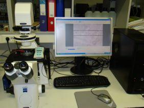 Zeiss inverz kutatómikroszkóp