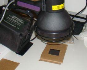 UV lámpa a lágy litográfiás eljáráshoz
