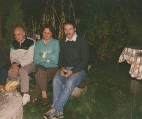 Brücher Ernő, Gönczi Árpádné Magdi, Kovács Zoltán