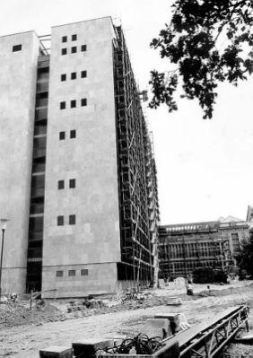 A Kémia Épület építése